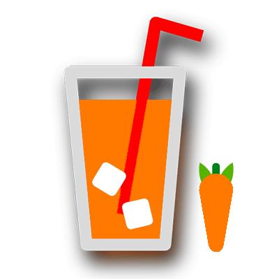 آب هویج طبیعی
