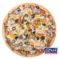 پیتزا فقط در خانه برگر