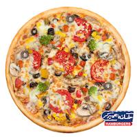 خانه برگر پیتزا سبزیجات